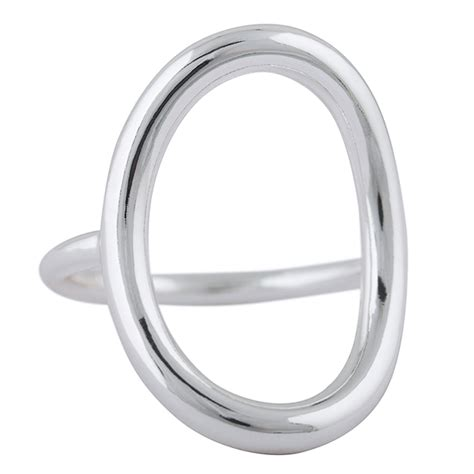 Ringe Gã Nstig by Smuk Sterling S 248 Lv Blank Oval Ring