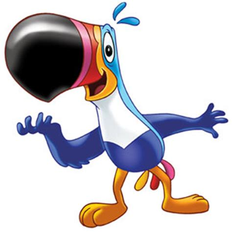 fruit loops bird animal toucan sam