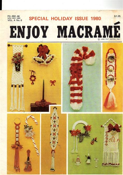 Best Macrame Book - 60 best images about all up in knots on