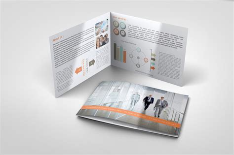 corporate bi fold brochure template graphicriver print