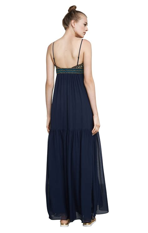 Chiffon Sabrina by Sabrina Embroidered Chiffon Gown
