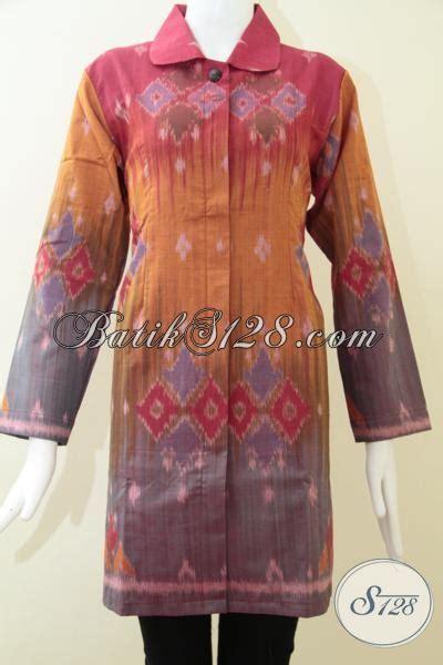 Baju Batik Pejabat Wanita butik baju tenun wanita blus tenun mewah untuk wanita pejabat bls1240nf l toko batik 2018