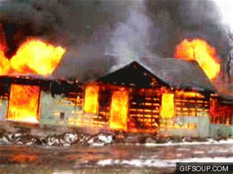 house on fire gif i would nopenopenope so hard gifs