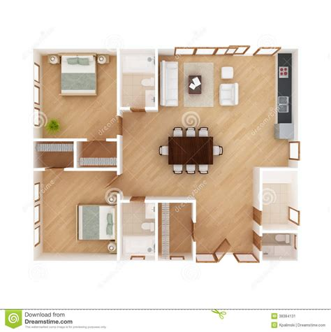 house plan top view stock image image 38384131
