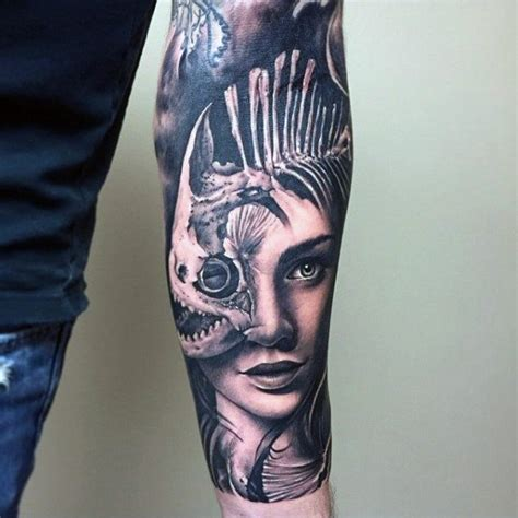 75 inner forearm tattoos for men masculine design ideas