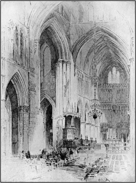 Bell's Cathedrals: Southwark Cathedral, by George Worley