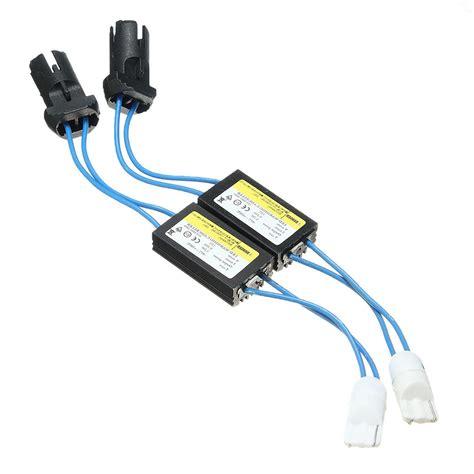 resistor for 194 led bulb 2x warning canceller resistor canbus t10 eliminate error w5w light led lights s