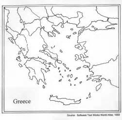 Ancient Greece Blank Map by 9 Best Images Of Blank Map Of Greece Worksheet Map Of