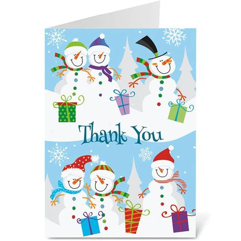 Buy Gift Card Get One Free - holiday thank you note cards colorful images