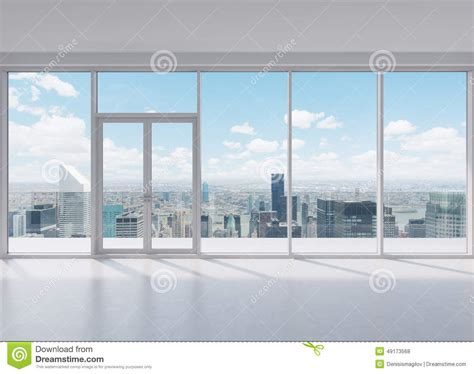 office view modern office stock illustration image of nobody