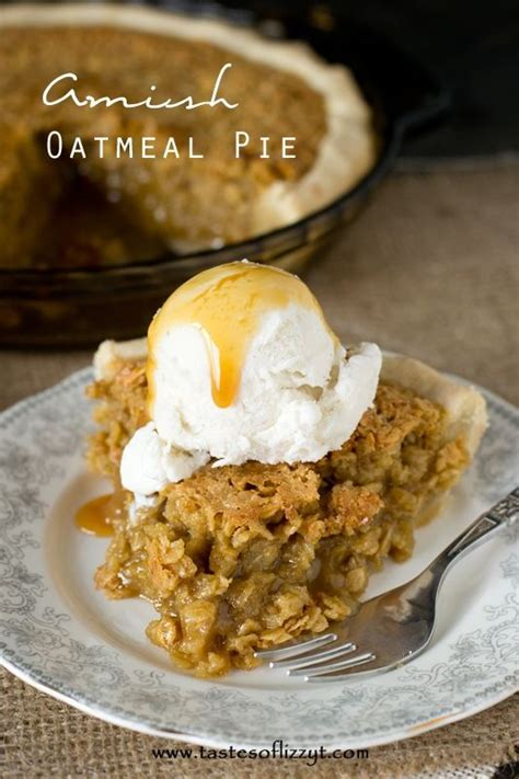 cooking light oatmeal pecan pie amish oatmeal pie recipe tastes of lizzy t comforting