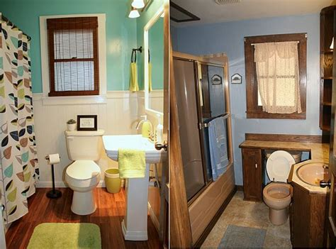 small bathroom before and after before and after small bathroom makeovers big on style