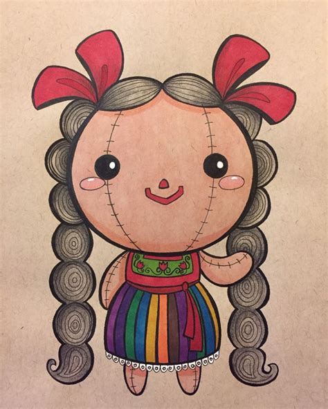 mexican rag doll tattoo 47 best abarca s illustrations images on