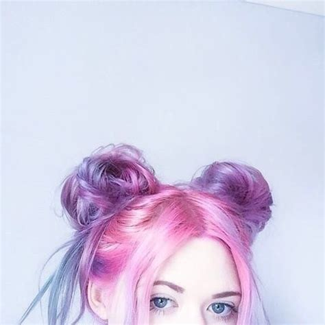 anime hairstyles tumblr cute space buns image 4946097 by marine21 on favim com