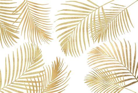 wallpaper daun palma quot gold palm leaves on white quot art prints by naturemagick