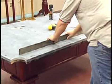how to install a pool table slate installation home