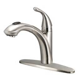 glacier kitchen faucet glacier bay keelia single handle pull out sprayer kitchen