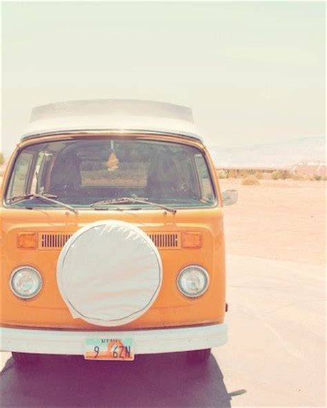orange volkswagen van volkswagen pastel and wanderlust on pinterest