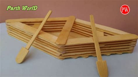 how to make a boat using craft sticks 92 arts and crafts ideas with popsicle sticks 35