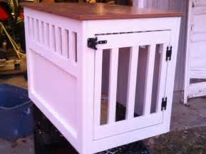 Wooden Dog Crate End Table Ana White Large Wooden Dog Crate End Table Diy Projects