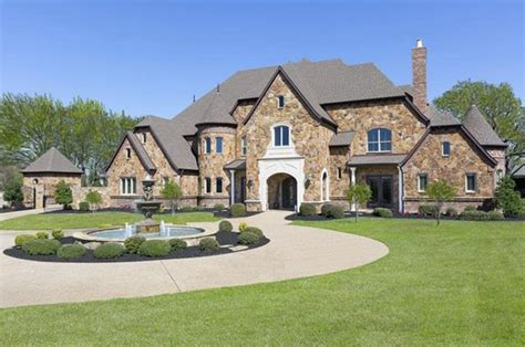 9000 square feet 9 000 square foot english inspired stone mansion in