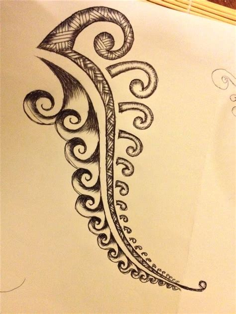 fern tattoos design polynesian fern design ferns