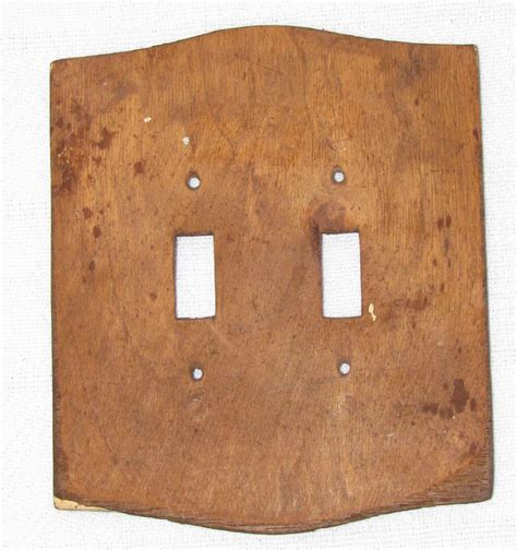 wood light switch covers carved wood double light switch cover rustic decor switch