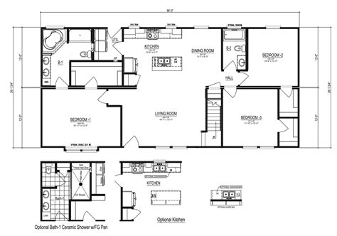 cape floor plans the noble cape manufactured home floor plan or modular