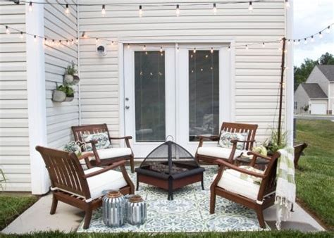 How To Decorate A Small Patio Space by 25 Best Ideas About Small Patio On Small