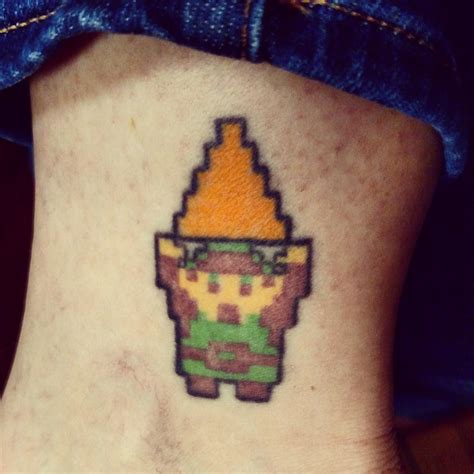 link tattoo 8 bit link www imgkid the image kid has it
