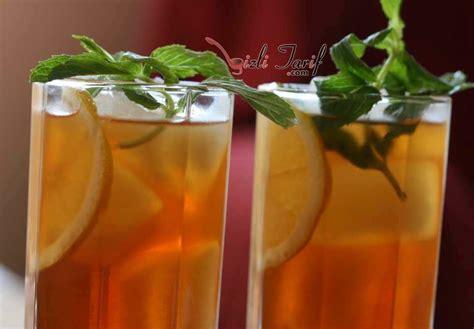 ice tea soguk cay tarifi resimli anlatim yemek tarifleri ev yapımı ice tea buzlu 199 ay pratik yemek tarifleri
