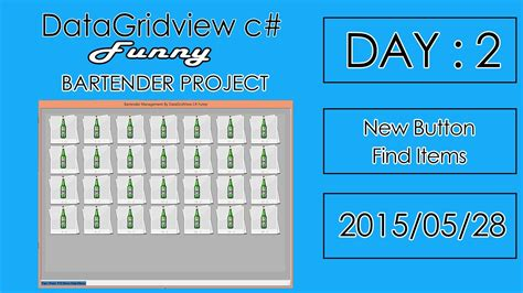 datagridview layout event bartender point of sale project c vlog days 2 new