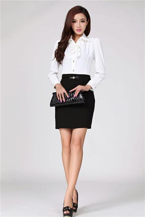 Dress Sepandress Bodycondress Formaldress Wanita aliexpress buy new 2014 autumn fashion formal business suits fall shirt and skirt ol