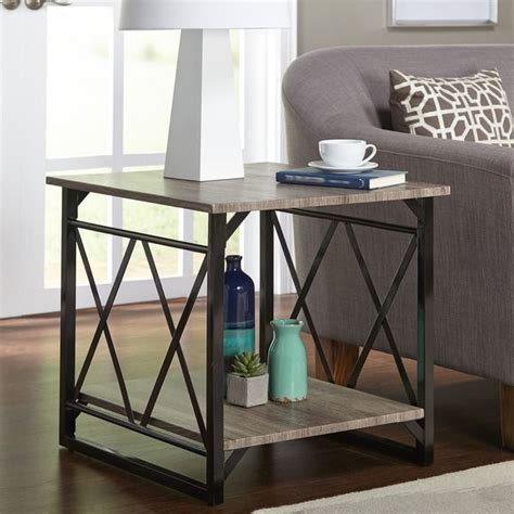 simple living seneca xx black grey reclaimed wood sofa table 23 best images about furniture on pinterest wicker