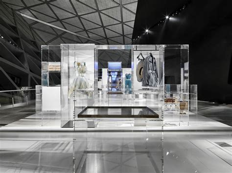 booth design retail culture chanel the exhibition guangzhou china exhibit