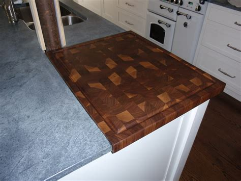 countertop cutting board end grain wood countertops custom