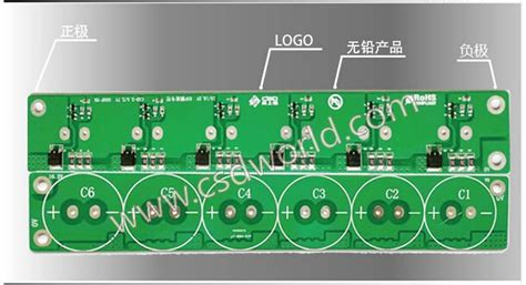 supercapacitor balance 1pcs large current 6 string 2 7v 500f ultracapacitor protection boards are balancing board