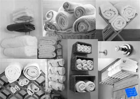 Bathroom Towel Folding Ideas bathroom towel storage