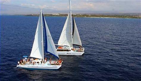 big island catamaran cruises adventureinhawaii waikoloa snorkel sail