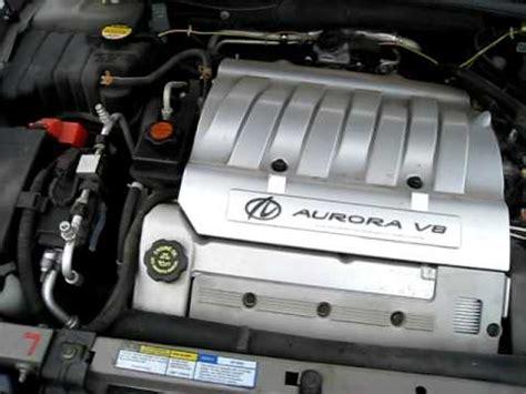 2001 oldsmobile aurora 4 0l v 8 engine automatic youtube