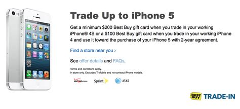iphone trade in deals best buy launches another iphone trade in special 200 iphone 5 through sunday 9to5mac