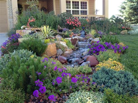 Landscape Gardening Ideas Xeriscaping Ideas An Exuberant Border That Attracts Songbirds And Butterflies Galore
