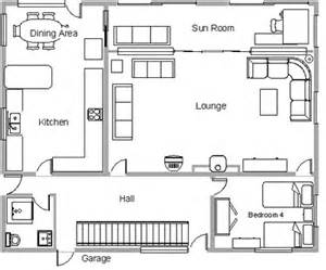 Do Ground Lines Go In A Floor Plan shoreham beach house property plan of ground floor
