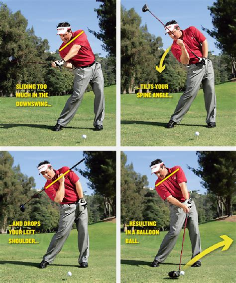 spine angle golf swing drive 4 show golf tips magazine