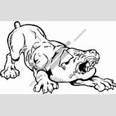 Angry Dog Ready to Attack Clipart and Vectorart: Animals - Dogs ...