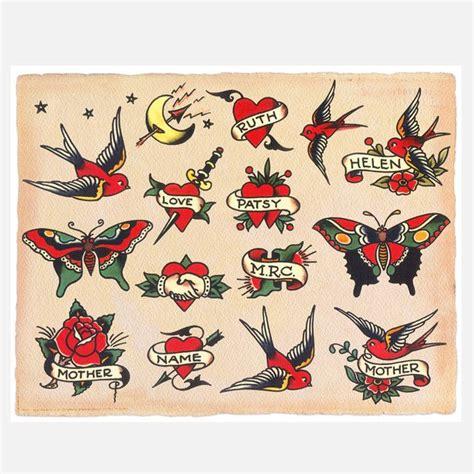 tattoo flash traditional american american traditional tattoos tattoos pinterest