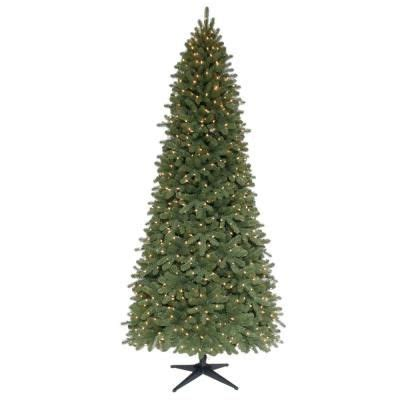 7 fr martha stewart slim christmas tree martha stewart living 9 ft pre lit downswept wimberly slim spruce artificial tree