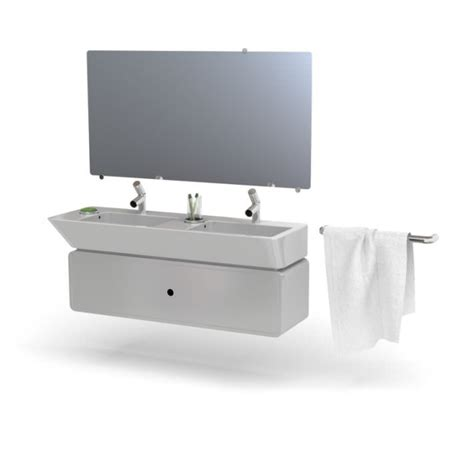 modern bathroom furniture set 3d model cgtrader