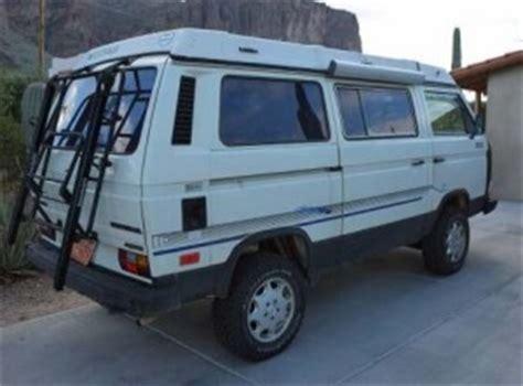vw for sale az 1986 syncro vanagon westfalia cer 26 500 in