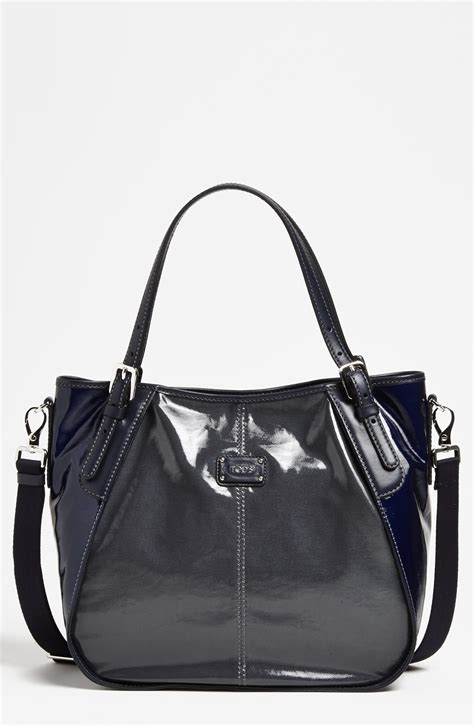 Tods New Bensonville Piccola by Tod S New G Sacca Piccola Tote In Black Grafite Grey Lyst